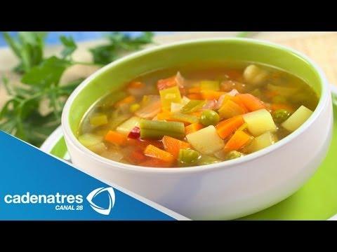 Receta para preparar caldo de vegetales. Receta de caldo / Caldo de vegetales