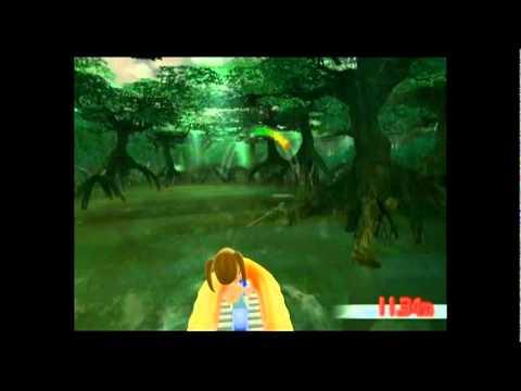 Wii ファミリーフィッシング プラチナアリゲーターガーの釣り方の一例