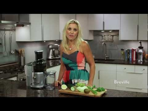 Video Breville -- Health Full Life™: Morning Jolt Juice Recipe with fruits and vegetables