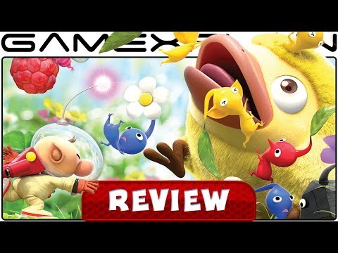 Hey! Pikmin - REVIEW (3DS) - YouTube video thumbnail