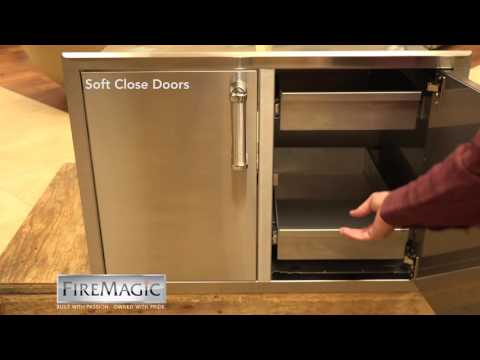 Fire Magic Soft Close Doors and Drawers