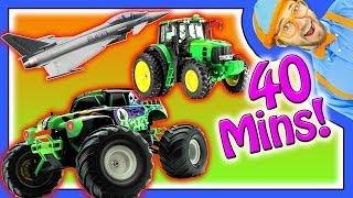 Nursery Rhymes - Educational Videos For Kids - 40 Minutes!