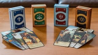 REAL LIFE GWENT   CDPR Gwent Cards Unboxing