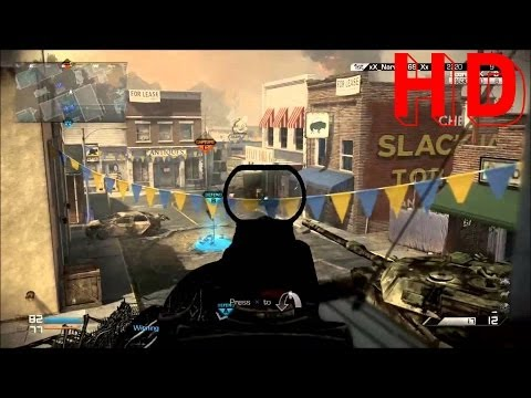 Clan vs Clan Objective CoD Ghosts Gameplay HD