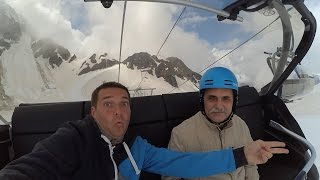 Лыжи в Красной поляне в мае
