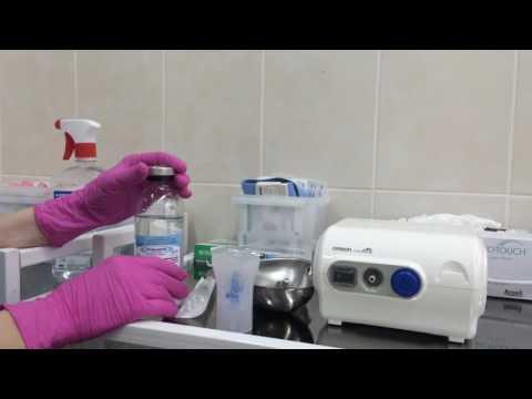 Физраствор: как использовать для ингаляции