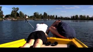 preview picture of video 'Off to Vienna - part7/ electroboot - Strandbar Herrmann - Schnitzel'