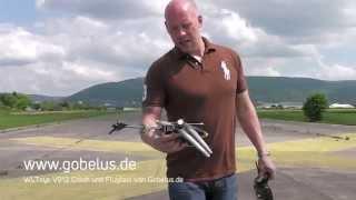 WLToys V912 RC Heli Crash und Flugtest von Gobelus.de