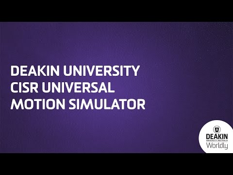 Australia's Deakin University Builds One Mean Flight Simulator