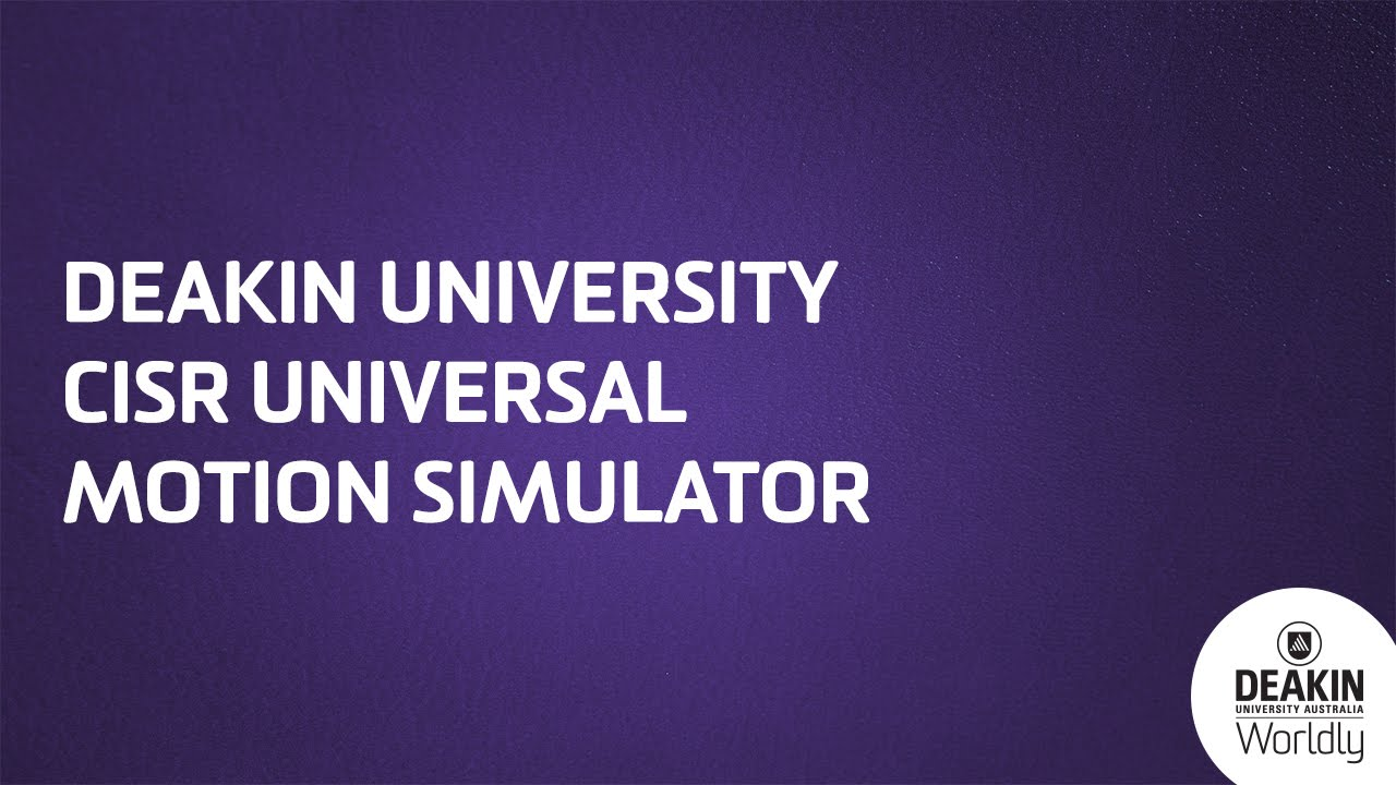 Australia's Deakin University Builds One Mean Flight Simulator