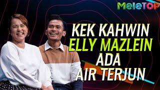 Kek Kahwin Elly Mazlien ada air terjun   MeleTOP   Nabil Ahmad & Nora Danish