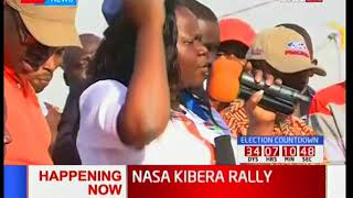 Homabay Woman rep Gladys Wanga puts Jubilee on notice for NASA's massive win on October 17th 2017