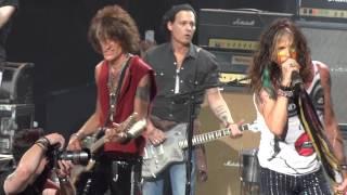 Джонни Депп, Aerosmith featuring Johnny Depp - Train Kept A Rolling - Comcast Center 7/16/14