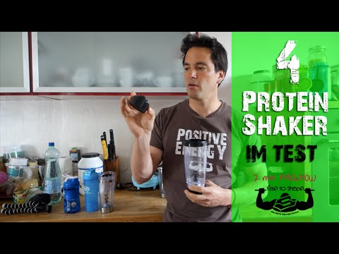 4 Eiweiß Shaker im Test - Blender Bottle, SmartShake, Promixx & Co. - #30 2min Fitness Knowhow