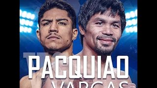 Highlights Manny Pacquiao vs Jessie Vargas/ 2016