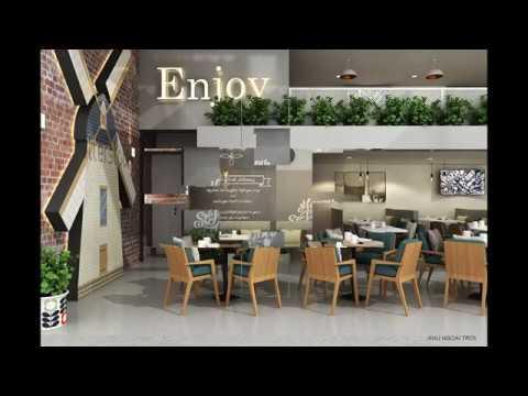 Tìm hiểu nhu cầu thiết kế quán trà sữa cao cấp nội thất hiện đại