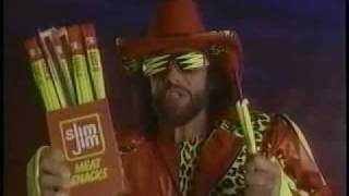 Slim Jim Macho Man Commercial from 1992