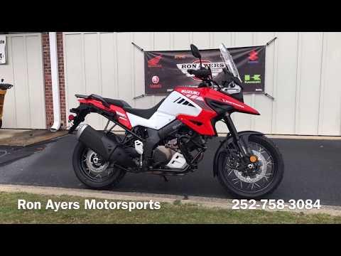 2020 Suzuki V-Strom 1050XT in Greenville, North Carolina - Video 1