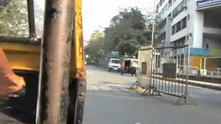 preview picture of video 'Rickshaw ride in Pune'
