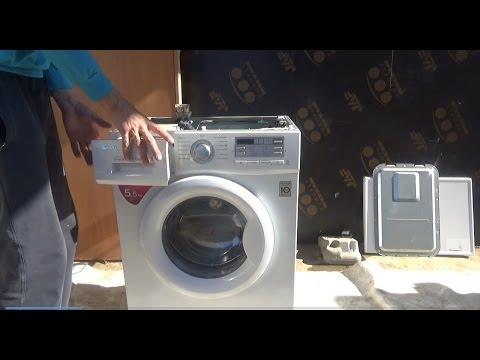 Как заменить подшипники на стиральной машине LG! ЧАСТЬ-1