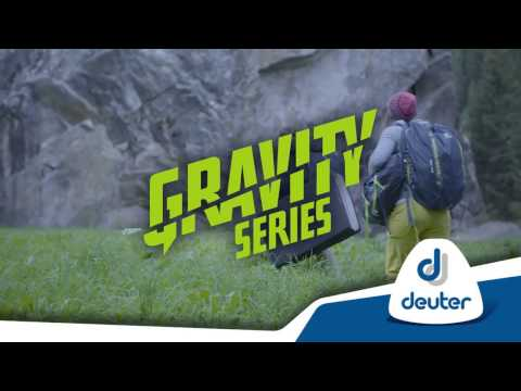 Видео о Рюкзак Deuter Gravity Pitch 12 SL цвет 3329 actic-navy 3362119 3329