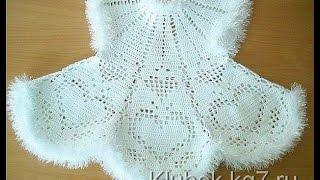 Crochet Patterns| For Free |vintage Crochet Baby Dress Pattern| 32