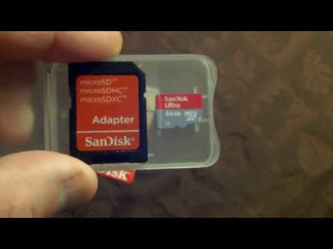Sandisk 64GB Ultra Micro SDXC UHS -1 Class 10 Card With Adapter