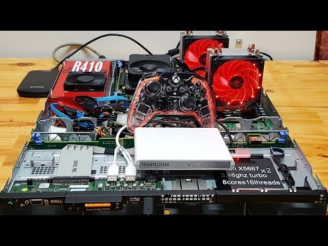 Dual quad core xeon Gaming computer Starts with a $50 server