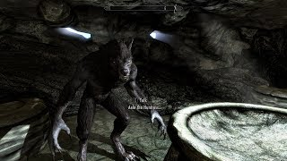 SkyrimSE Eps# 104 Ganci: The Werewolf and I Are One