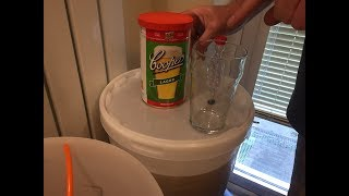 Coopers Lager 40 Pint Home Brew Beer Kit, Our Experience - Part 1