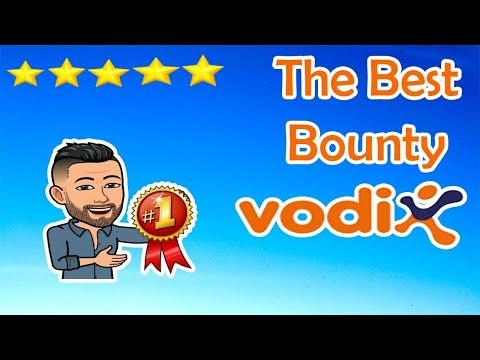 Top Bounty VodiX na Exchange BITTREX IMPERDÍVEL . $11 Dólares de GRAÇA!!!!!