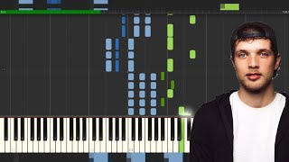 BROOKS | LYNX | PIANO TUTORIAL | FREE MIDI | BY MMP
