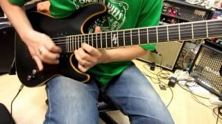 Schecter Blackjack Atx Guitar Demo By Chatreeo