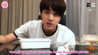 [VIETSUB l JINAHVN] 150820 Eat Jin in Thailand