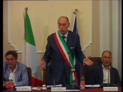 ALASSIO, L'INTERVISTA AL SINDACO MELGRATI A TERMINE DELLA PRIMA SEDUTA DI CONSIGLIO