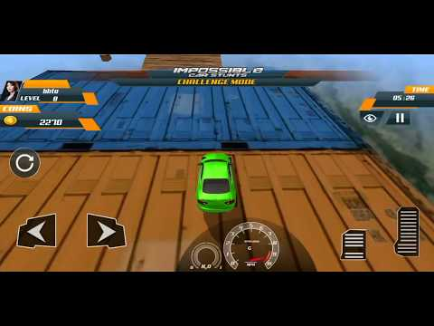 Impossible Car Stunts Extreme Challenge On Racing Tracks / Android Gameplay FHD