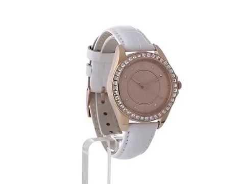 Esprit Special Damen Armbanduhr Analog Quarz Leder