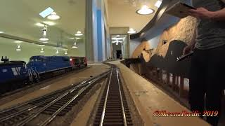 SP HO Trains #1177 Nick's Railway Part Two  Cab Ride  2019-02-22