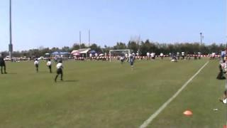 Young Men's Social Club Bluebirds U8 vs PHC Quarter Finals   Kappa Tournament 2011 1