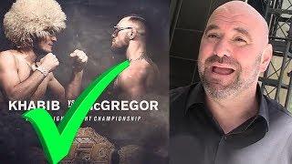 ВОТ ПОЧЕМУ БОЙ КОНОРА МАКГРЕГОРА И ХАБИБА СОСТОИТСЯ НА UFC 229 ! КОМПАНИЯ UFC !