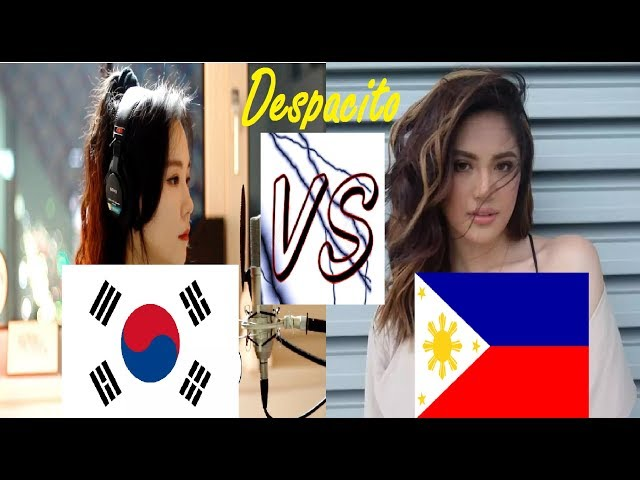 Korea VS Philippines Sings Despacito | Who Sang it Better?