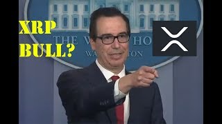 XRP King of Coins: More Attention Being Drawn To The Crypto Space As Mnuchin Talks Regulation