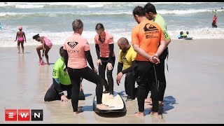 A Muizenberg surf lesson with a twist