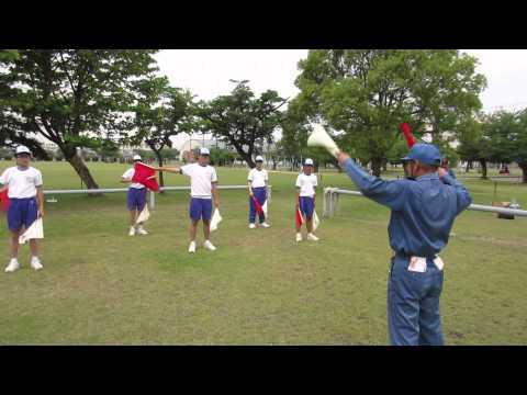 広島市立中広中学校 職場体験学習 自衛隊3