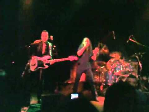 "SARISSA    LIVE   ""into the night""new song 2012"