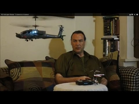 Syma RC Helicopter Review – 3 channel vs 4 channel