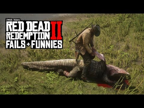 Red Dead Redemption 2 - Fails & Funnies #64