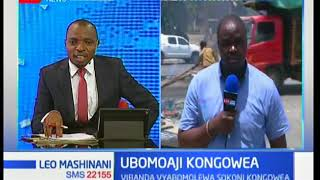 Ubomoaji Kongowea:Vibanda vyabomolewa sokoni Kongowea