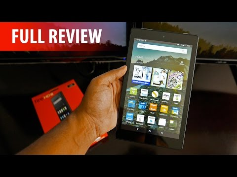 All New Fire HD 8 Tablet Review (2016) – Amazon Strikes Again!?