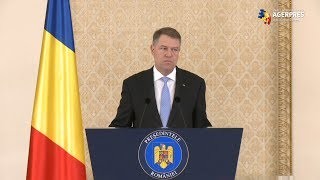 Iohannis: Invit pe cei implicaţi în procedura de formare a Guvernului să se mobilizeze